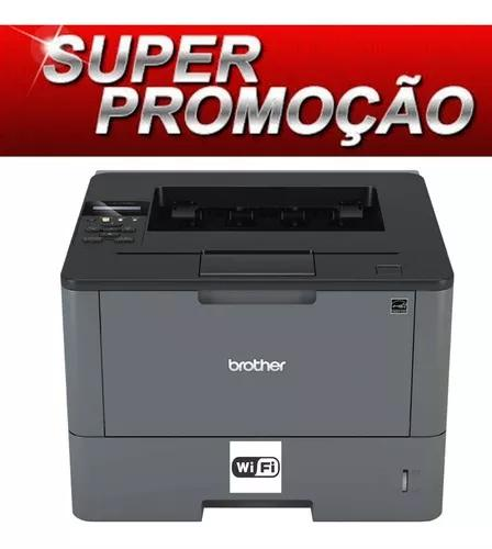 Impressora laser mono brother hl-5102dw l5102dw l5102 wifi
