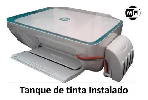 Impressora multifuncional hp wi-fi com tanque de tinta bulk