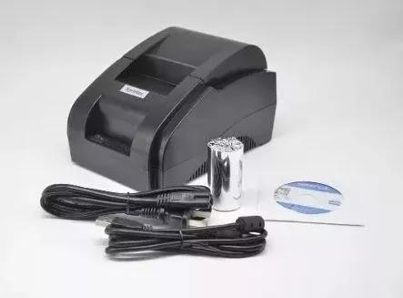 Impressora térmica usb ticket cupom 58mm - pronta entrega