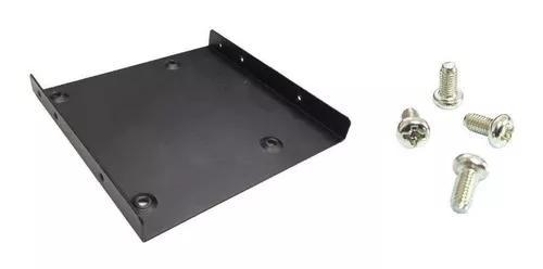 Kit adaptador de baia 2,5 p/ 3,5 p/ ssd hd 2,5 + 4 parafusos