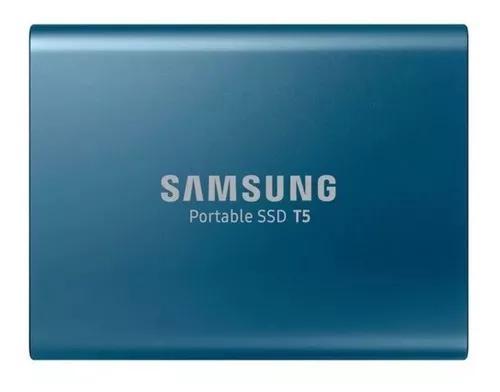 Ssd externo portátil samsung t5 500gb usb3.1 hd/ssd lacrado