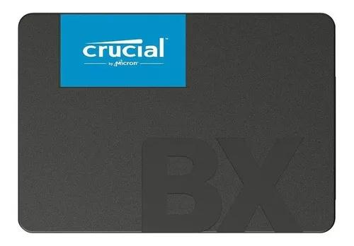 Ssd hd 2,5 crucial 120gb bx500 sata 540mb/s novo original