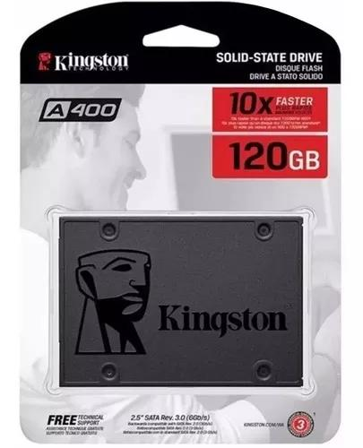 Ssd kingston a400 2.5 120gb sata i i i 320mb sa400s37/120gb