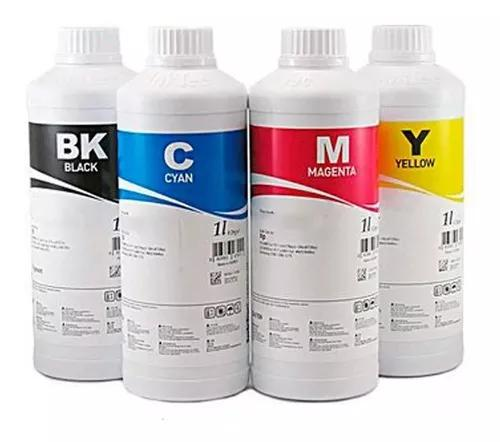Tinta para canon g1100 g2100 g3100 g3102 kit c/4 cor 250ml