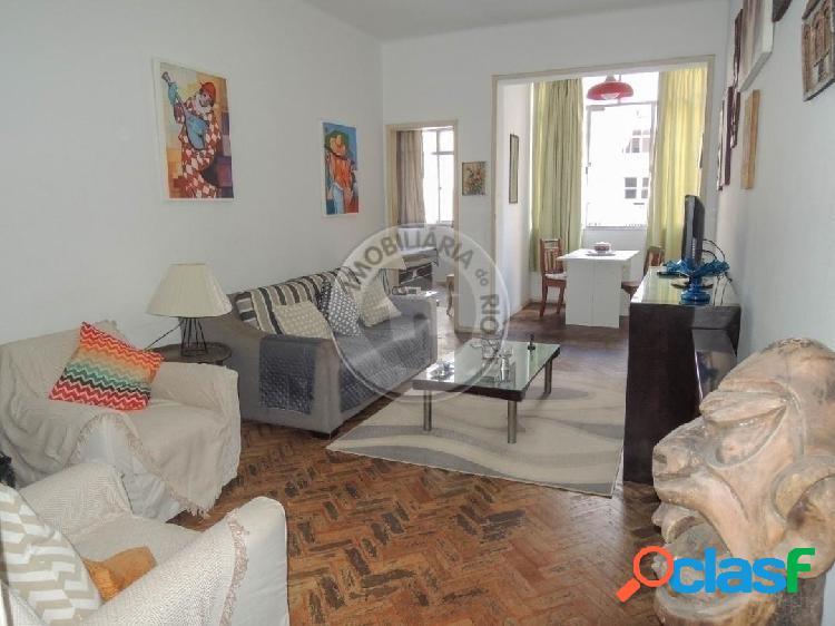 Apartamento 109m², 3 quartos, barata ribeiro - copacabana