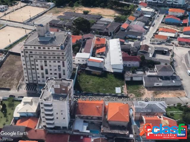 Terreno urbano com área de 919,60m², venda direta, bairro nossa senhora do rosário, são josé, sc - assessoria gratuita na pinho