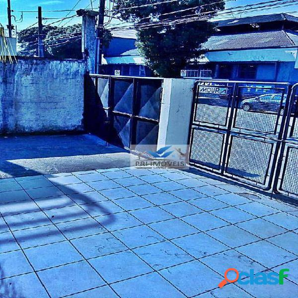 Galpão para alugar, 800 m² por r$ 11.000,00/mês - macuco - santos/sp