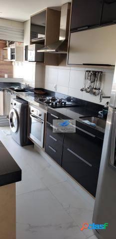 Apartamento à venda, 77 m² por R$ 690.000,00 - Ponta da Praia - Santos/SP 1