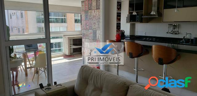 Apartamento à venda, 77 m² por R$ 690.000,00 - Ponta da Praia - Santos/SP 3