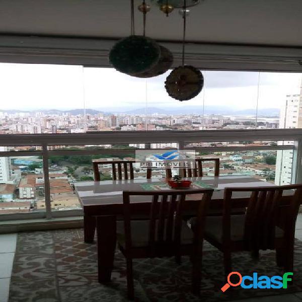 Apartamento à venda, 78 m² por r$ 530.000,00 - ponta da praia - santos/sp