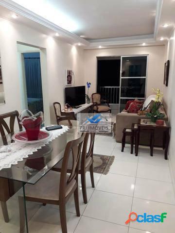 Apartamento para alugar, 90 m² por R$ 2.500,00/mês - Ponta da Praia - Santos/SP 1