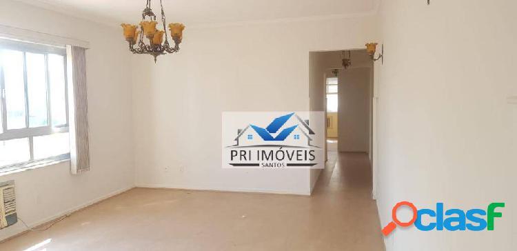 Apartamento para alugar, 117 m² por R$ 3.000,00/mês - Gonzaga - Santos/SP 1