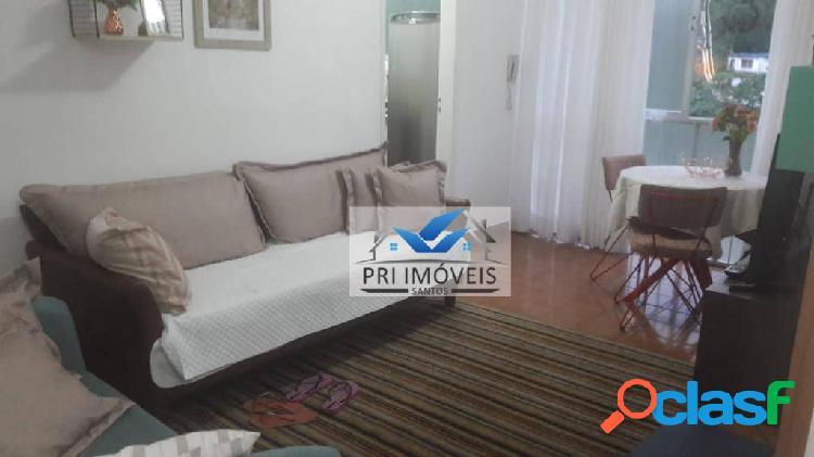 Apartamento à venda, 50 m² por r$ 175.000,00 - josé menino - santos/sp