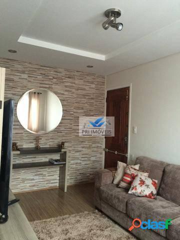 Apartamento à venda, 79 m² por r$ 255.000,00 - jardim independência - são vicente/sp