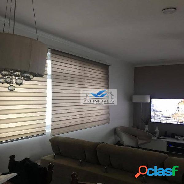 Apartamento à venda, 90 m² por r$ 399.000,00 - vila belmiro - santos/sp