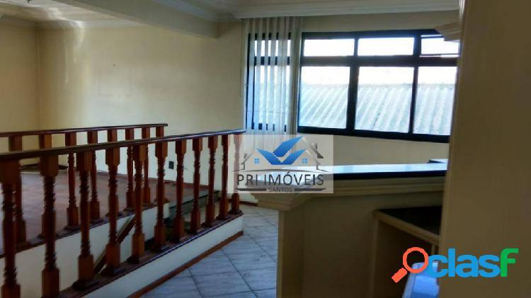 Casa à venda, 268 m² por r$ 850.000,00 - embaré - santos/sp
