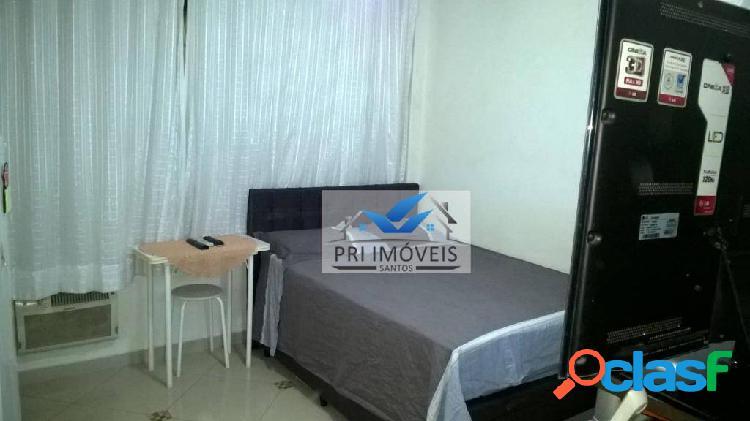 Kitnet à venda, 30 m² por R$ 163.000,00 - José Menino - Santos/SP