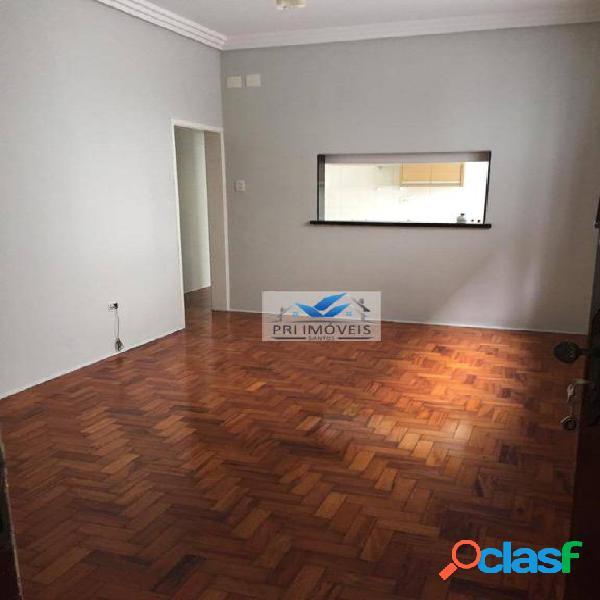 Apartamento para alugar, 68 m² por r$ 1.700,00/mês - vila matias - santos/sp
