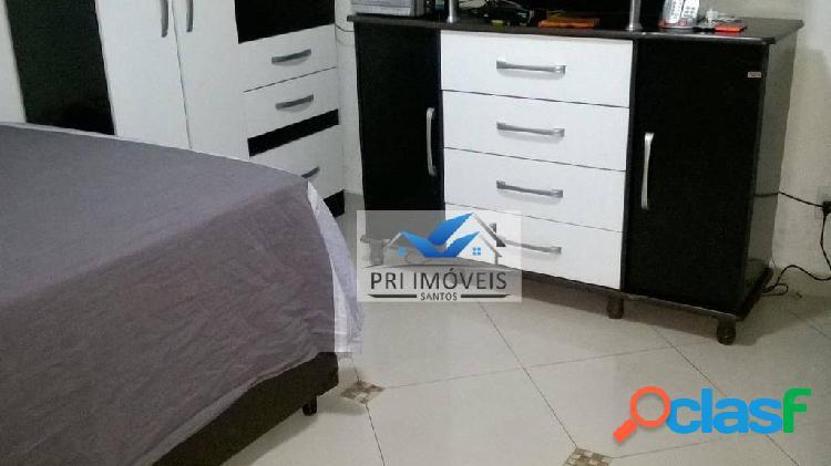 Kitnet à venda, 30 m² por R$ 163.000,00 - José Menino - Santos/SP 1