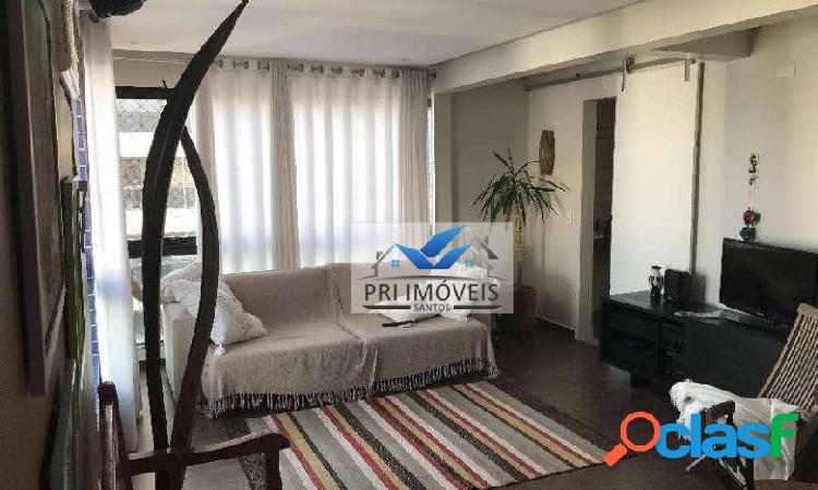 Cobertura à venda, 260 m² por R$ 1.600.000,00 - Ponta da Praia - Santos/SP
