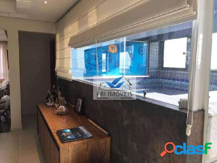 Cobertura à venda, 260 m² por R$ 1.600.000,00 - Ponta da Praia - Santos/SP 2