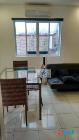 Apartamento à venda, 52 m² por r$ 298.000,00 - ponta da praia - santos/sp