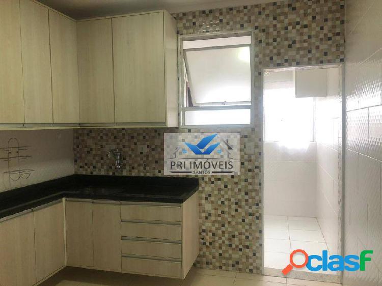 Cobertura à venda, 145 m² por r$ 590.000,00 - aparecida - santos/sp