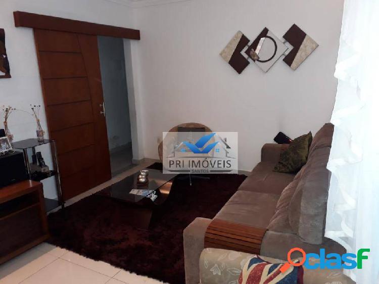 Apartamento à venda, 98 m² por r$ 445.000,00 - vila matias - santos/sp