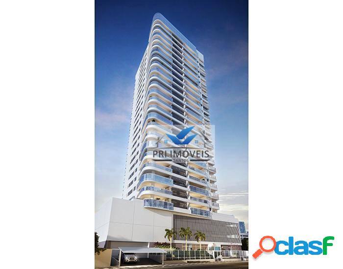 Apartamento à venda, 184 m² por r$ 2.150.000,00 - vila rica - santos/sp
