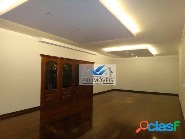 Apartamento à venda, 256 m² por r$ 1.290.000,00 - boqueirão - santos/sp
