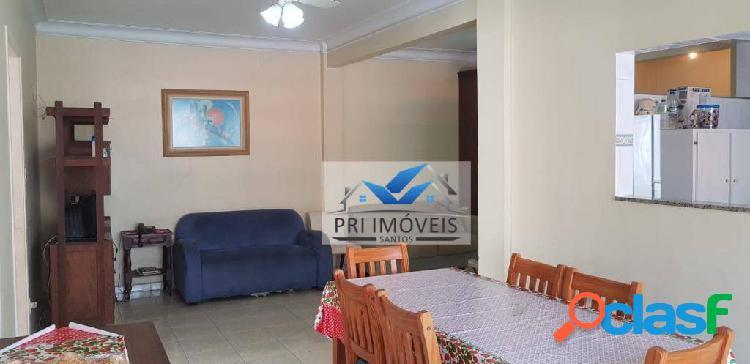 Apartamento à venda, 115 m² por r$ 480.000,00 - josé menino - santos/sp