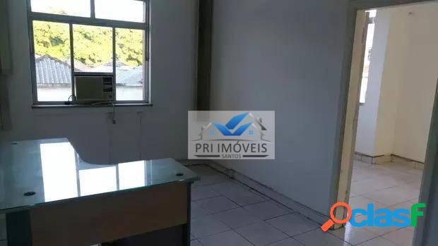 Sala à venda, 38 m² por r$ 135.000,00 - centro - santos/sp