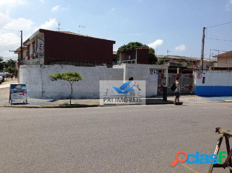 Terreno à venda, 670 m² por r$ 1.900.000,00 - ponta da praia - santos/sp