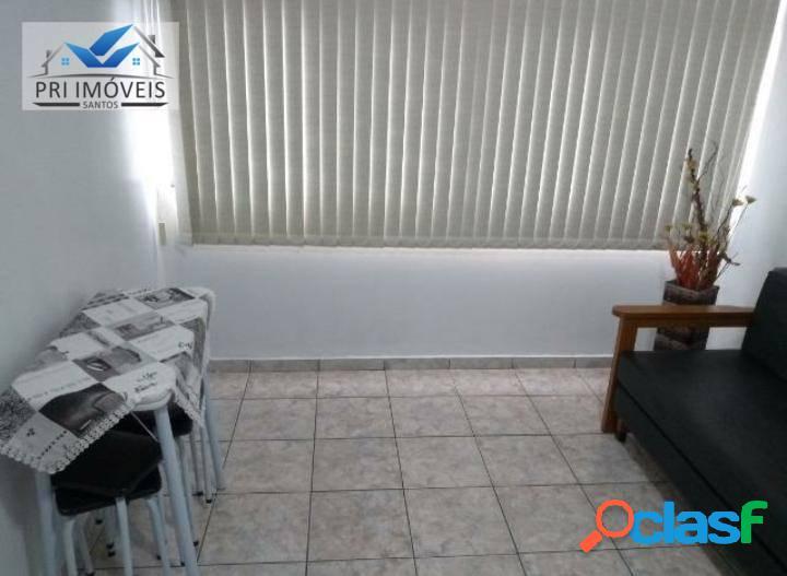 Kitnet à venda, 30 m² por R$ 180.000,00 - José Menino - Santos/SP 1