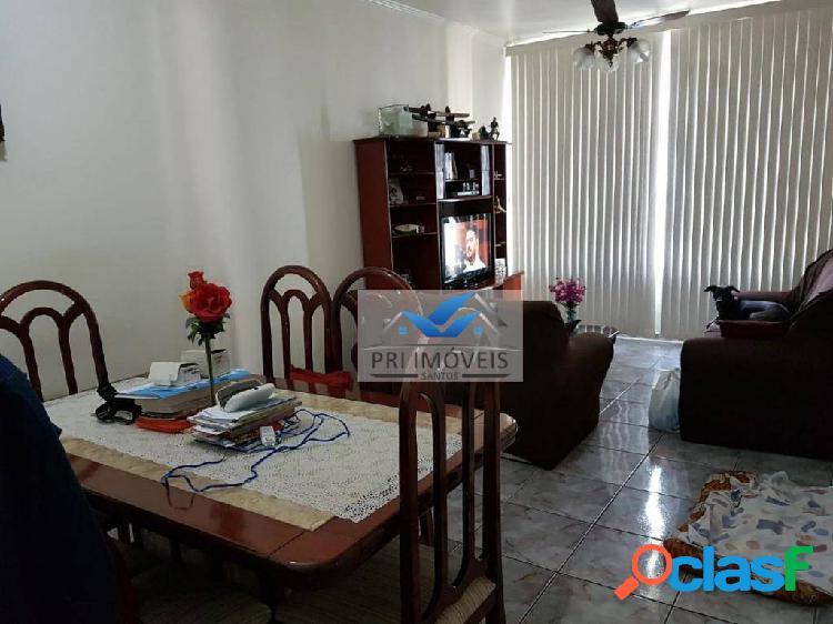Apartamento à venda, 86 m² por r$ 445.000,00 - josé menino - santos/sp