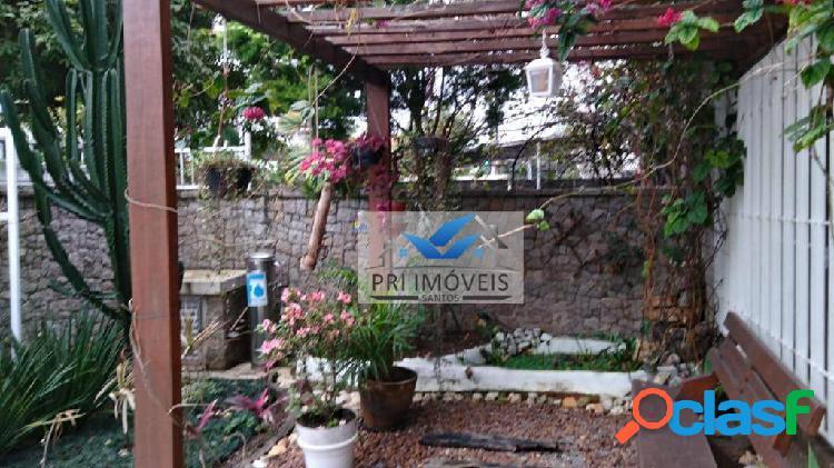 Sobrado à venda, 293 m² por R$ 2.000.000,00 - Aparecida - Santos/SP