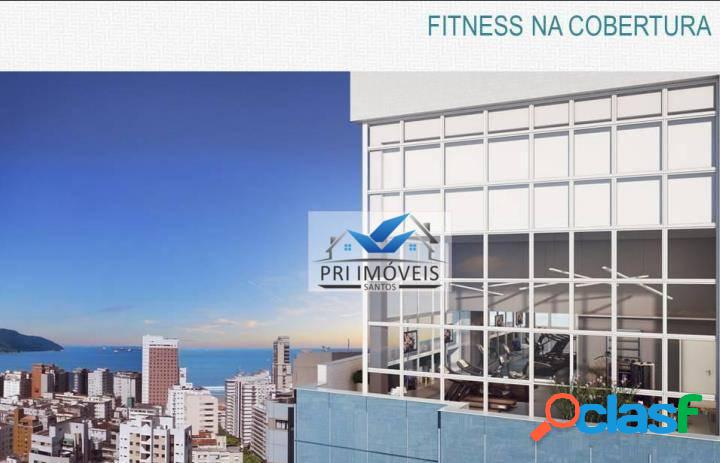 Apartamento à venda, 143 m² por R$ 956.500,51 - Vila Rica - Santos/SP 2