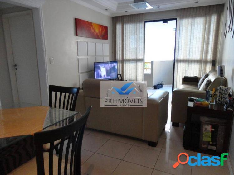 Apartamento à venda, 60 m² por r$ 235.000,00 - centro - são vicente/sp