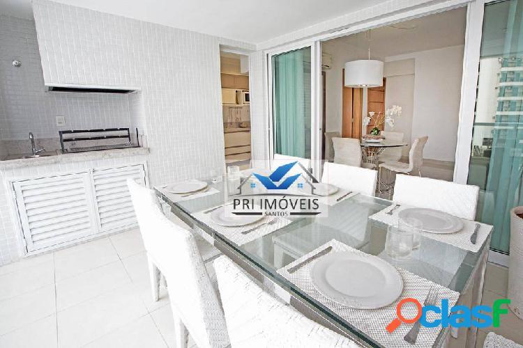 Apartamento à venda, 125 m² por R$ 840.000,00 - Ponta da Praia - Santos/SP