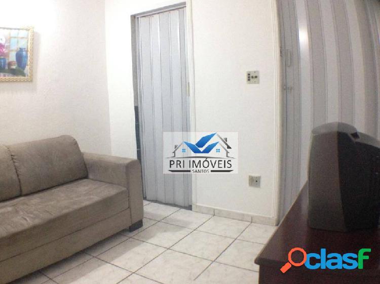Apartamento à venda, 28 m² por r$ 169.800,00 - josé menino - santos/sp