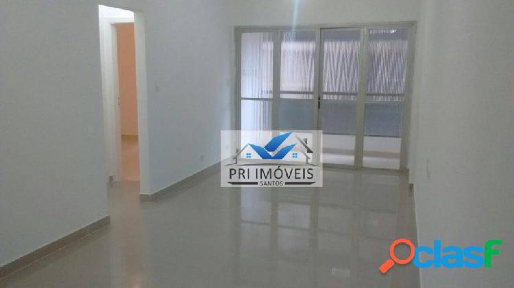 Apartamento à venda, 82 m² por r$ 439.000,00 - ponta da praia - santos/sp