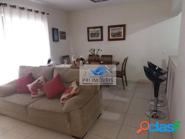 Apartamento à venda, 96 m² por r$ 560.000,00 - vila belmiro - santos/sp