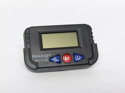 32 relógio digital mini carro cronometro despertador painel