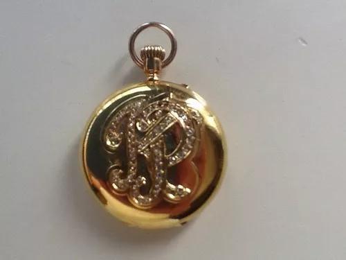 Colecionador relógio de ouro e diamantes- henry capt-