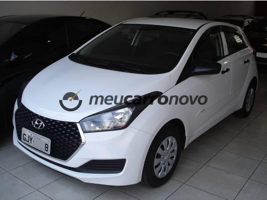 Hyundai hb20 unique 1.0 flex 12v mec. 2018/2019