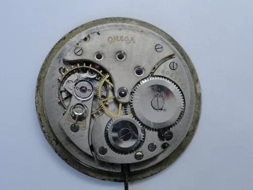 Omega calibre 39,1 - somente máquina e mostrador