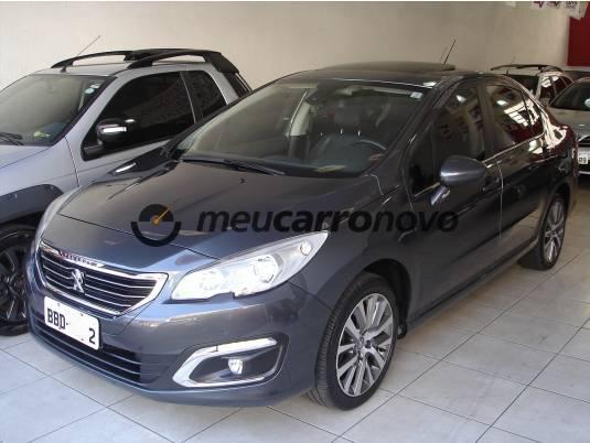 Peugeot 408 sedan griffe 1.6 tb flex 16v 4p aut. 2016/2017