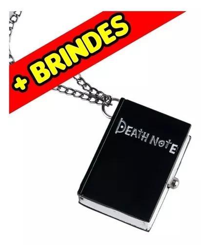 Pingente/chaveiro/relógio De Bolso Death Note + Brindes