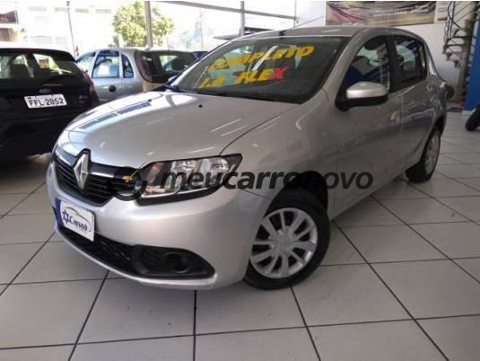 Renault sandero expression hi-flex 1.6 8v 5p 2017/2018