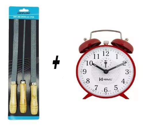Relógio alice pais maravilha mecânico corda + jg lima